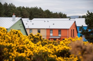 East Whins ecovillage sustainable housing community scottish timber housing solar
